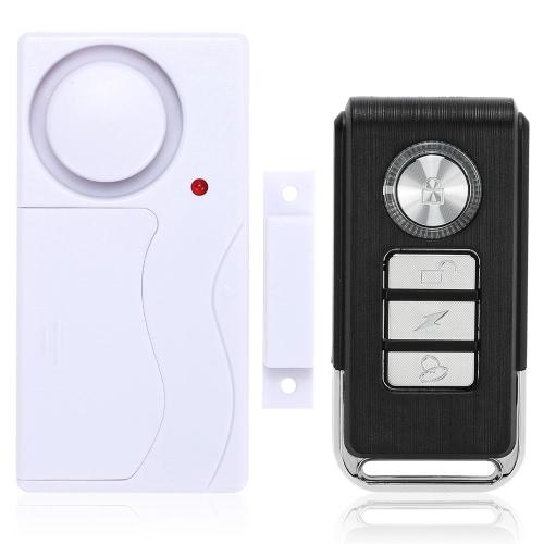 Drahtlose magnetische Tür-Sensor Fernsteuerungshaupthaus Fenster-Detektor-Sicherheits-Warnung