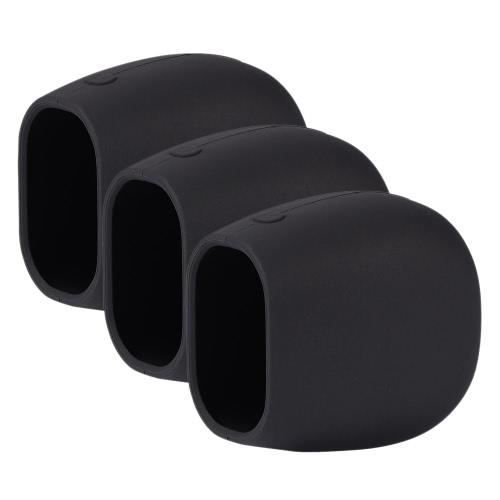 3つのパックのシリコンスキンは、プロプロカメラセキュリティ耐候性UV耐性ケース