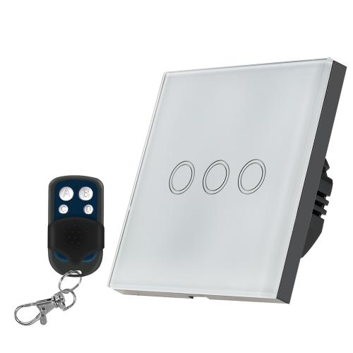 EU / UK Standard Smart Fernbedienung Wand Touch-Schalter