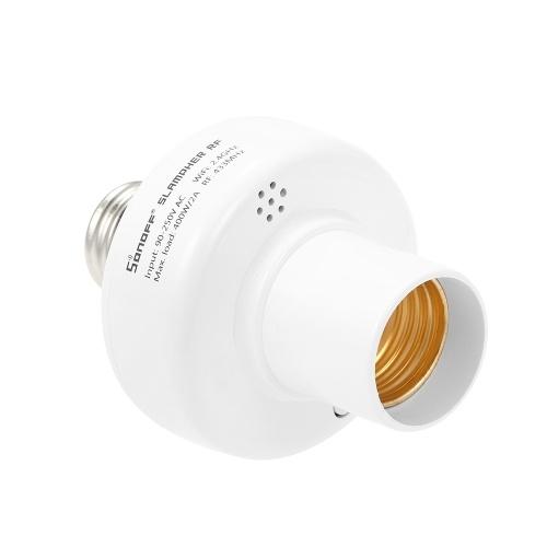 3PCS SONOFF Slampher ITEAD WiFi Умный держатель лампочки 433MHz RF E27 Беспроводной патрон лампы работает с Amazon Alexa и для Google Home / Nest
