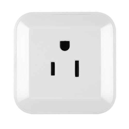 Image de Mini Wifi Smart Plug avec On / Off Switch Support Téléphone App Control Anywhere et n'importe quand Fonction de synchronisation, Contrôle vocal pour Amazon Alexa pour Google Home / Nest IFTTT pour TP-Link (Pack de 3)