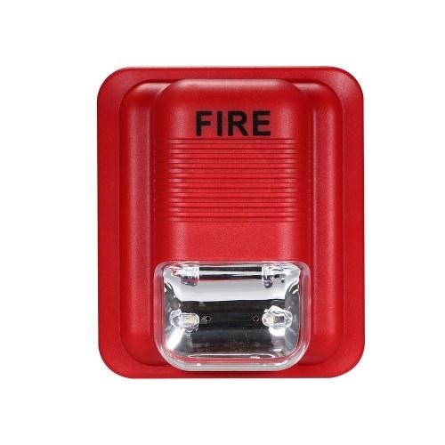火災警報警告ストロボサイレンセキュリティシステム