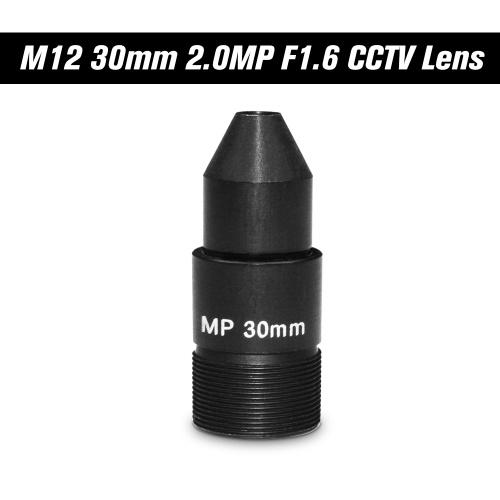 "HD 2.0 Megapixel Pinhole 30mm Lente CCTV MTV Board lens M12 * P0.5 Mount Lens Formato de imagen de 1 / 2.7 ""Aperture F1.6 para cámaras de seguridad de vigilancia IP Camera Lens"