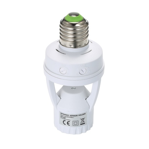 Suporte da lâmpada do sensor de movimento da indução de 360 graus PIR