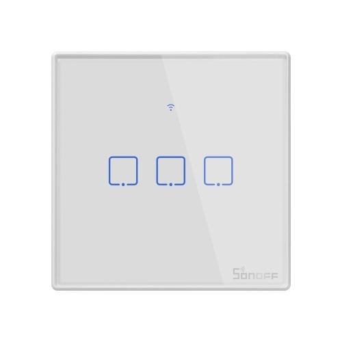 SONOFF T2 TX Smart Switch Wifi Настенный Выключатель