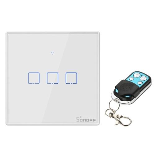 SONOFF T2EU1C-TX 1 Gang Smart WiFi Настенный светильник фото