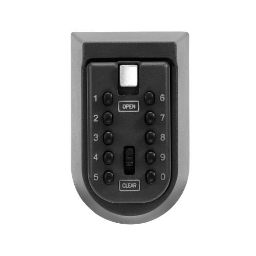Coffre-fort à clés en alliage d'aluminium fixé au mur sécurité à la maison mot de passe sécurité verrouillage boîtes de rangement avec code
