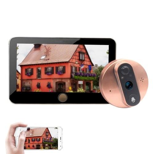 4,3 '' WIFI Smart LCD Цифровой глазок дверной камеры