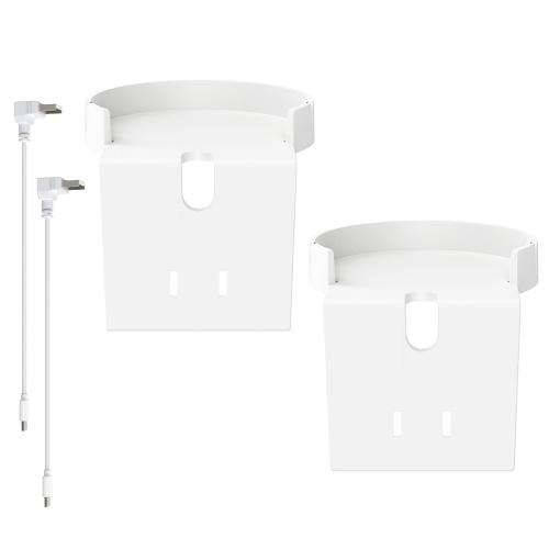 Paquete de 2 compatibles con el soporte de montaje en pared Blink Mini Outlet