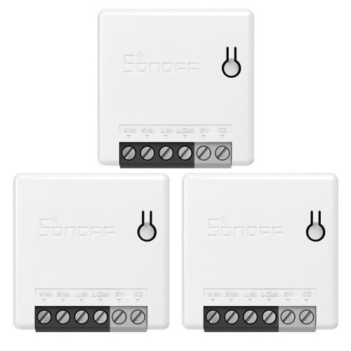 3 PCS SONOFF ZBMINI Zigbee DIY Two Way Switch inteligente