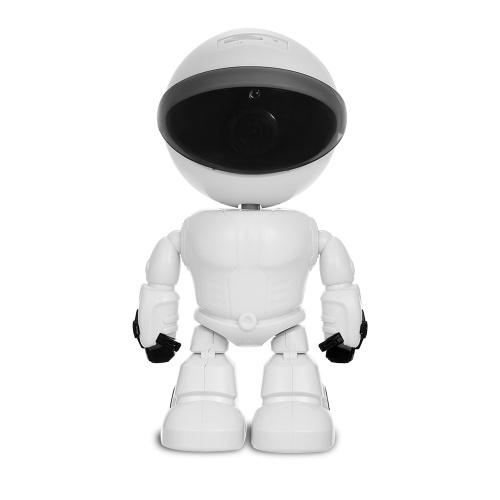 HD 1080PWiFiロボットセキュリティIPカメラパンチルト