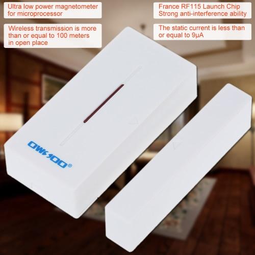 OWSOO drahtloser Tür-Fenster-Abstand-Sensor-Detektor für Warnungs-Sicherheitssystem