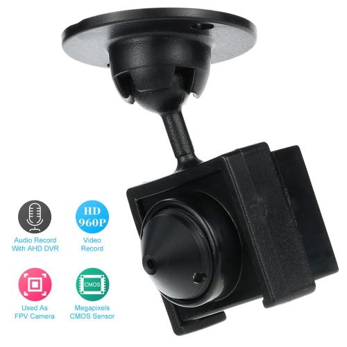 ミニ AHD メガピクセル 960 P 1600TVL 監視カメラ CCTV セキュリティ屋内 FPV カム サポート マイク OSD DC5/12 v プラグ アンド プレイ PAL/NTSC は調節可能です