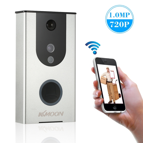 KKmoon 720P WiFi Visuelle Intercom Video Türklingel