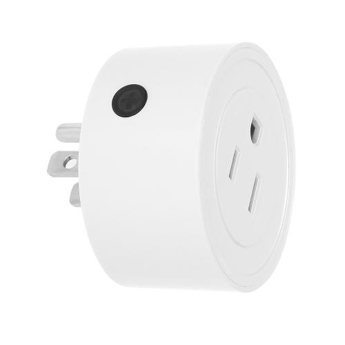 Image de 4 Pack Wi-Fi Sans Fil Mini Smart US Plug Compatible avec Amazon Alexa et pour Google Home / Nest IFTTT Pour TP-Link