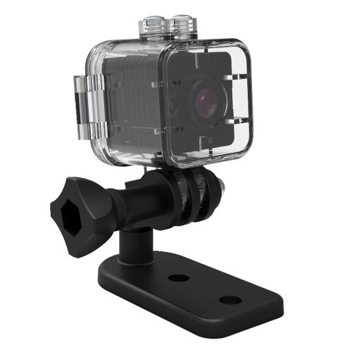 SQ12 Impermeável Mini Câmera HD 1080p Câmeras