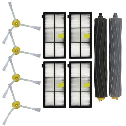 Sweeping Robot Accessory Set Combo for iRobot Roomba 800 866 876 900