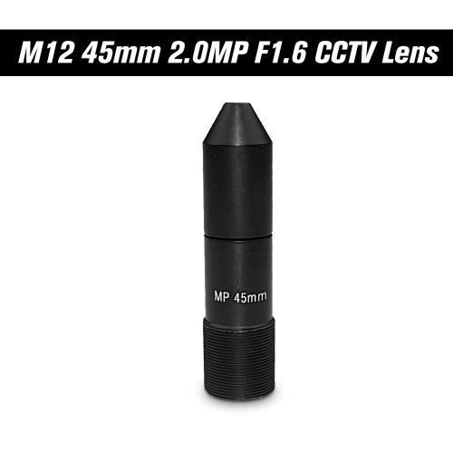 """HD 2.0 Megapixel 45mm Pinhole CCTV Objektiv M12 Mount MTV Board Objektiv Bildformat 1 """", F1.6, feste Iris lange Betrachtungsdistanz für Überwachungskameras"""