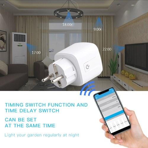 WiFi Plug SmartPlug Homekit Wireless Control Socket RC PowerOutlet Voice Control Adapter Switch