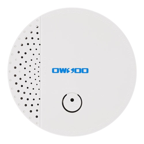 OWSOO  433MHz Wireless High Sensitive Smoke Sensor Fire Detector Alarm System Home Security