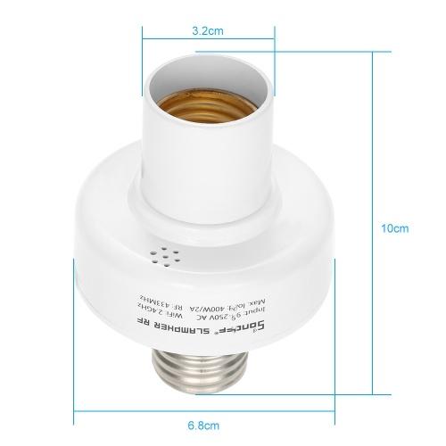 5PCS SONOFF Slampher ITEAD WiFi Умный держатель лампочки 433MHz RF E27 Беспроводной патрон лампы работает с Amazon Alexa и для Google Home / Nest
