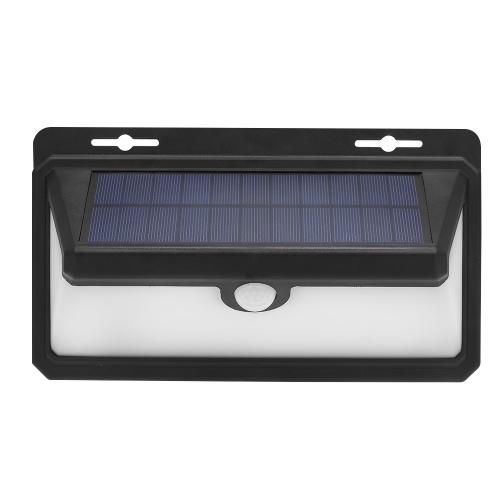 Luzes solares postas solares impermeáveis da parede do sensor do sensor de movimento de PIR