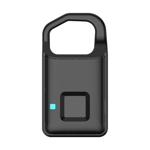 Lucchetto per impronte digitali intelligente con luce LED / Lucchetto per porta ricaricabile con ricarica USB sicura
