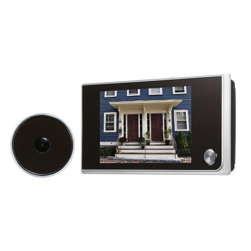 デジタルドアカメラ3.5インチ液晶カラースクリーンドアアイビューア