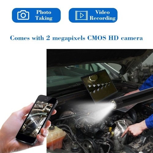 WIFI Endoscope Camera 5M Soft Cable 2.0 Megapixels Inspection Camera