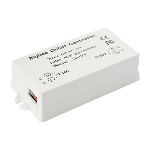 On / Off Tempo Inteligente Automação de Controle Remoto APP DIY Chama Retardante ABS Módulo Casa AC85-265V 10A Interruptor de Controlador