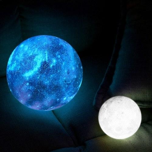 15cm/5.9in 3D Printing Star Moon Lamp