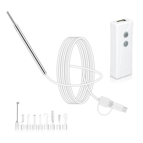 Mini-WIFI-Endoskopkamera mit Ohrstöpsel-Set