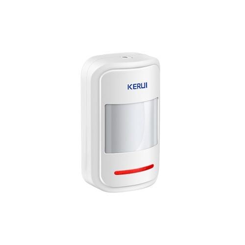 Detector de alarme de sensor de movimento PIR inteligente sem fio KERUI P819 433 MHz
