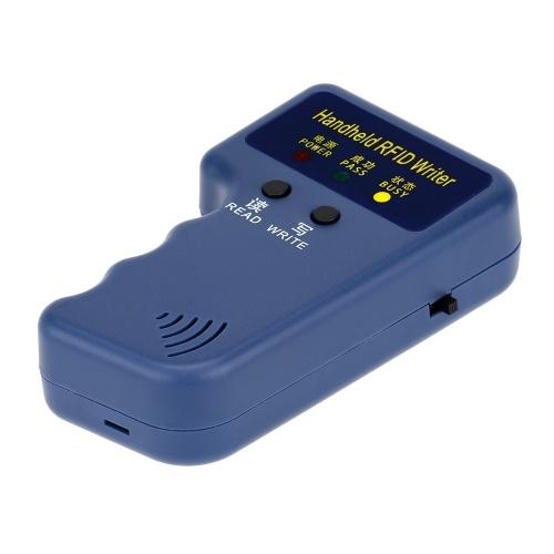 ハンドヘルドの 125 KHz RFID HID/ID カード ライター/コピー機複写機 + 10 本入り書き込み可能な T5577 カード
