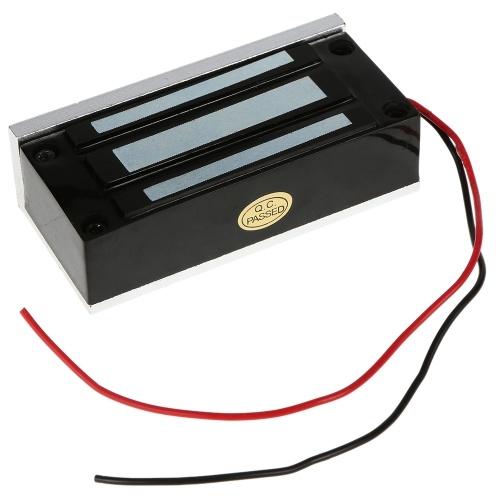 OWSOO 60KG 132lbs Forza di tenuta serratura magnetica Per la modalità di Controllo Accessi porte di sistema Elettromagnete Fail-Safe NC