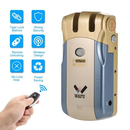 Protezione senza fili WAFU Security invisibile porta porta di ingresso senza fili Home Smart