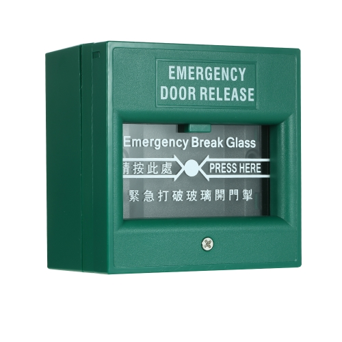 Interruptor de liberação de saída de alarme de incêndio de emergência