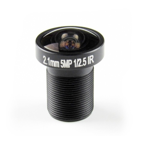 IP CCTVカメラ用2.1mm魚眼レンズCCTVレンズ1 / 2.5