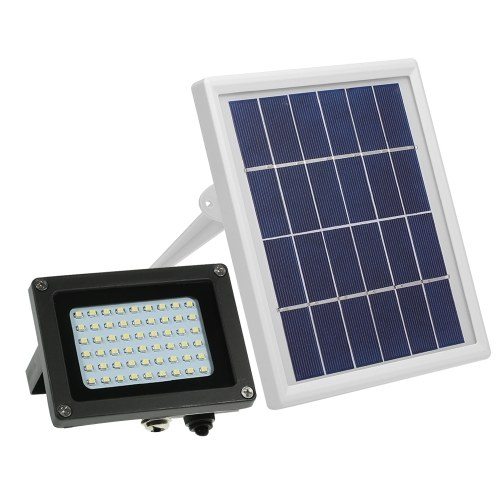 Luces solares accionadas solares de la prenda impermeable 54 LED IP65