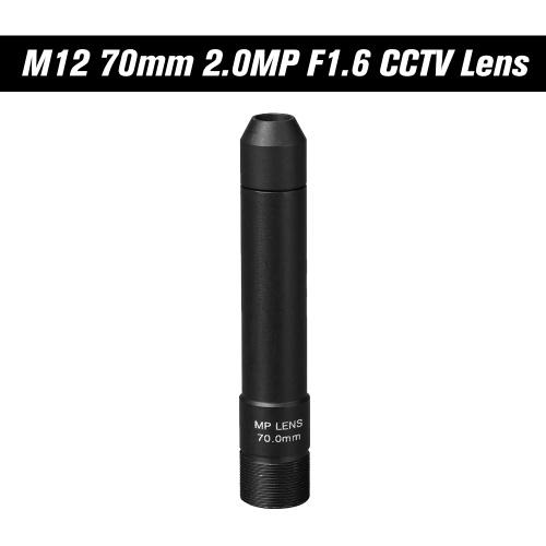 HD 2.0 Megapixel 70mm Pinhole CCTV Lens M12 Mount MTV Board Lens Image Format 1