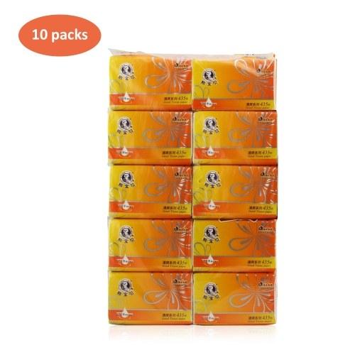 10 paquetes de toallas de papel tisú servilletas
