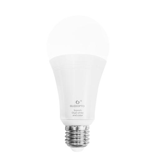 GLEDOPTO ZIGBEE 3.0 ZLL LED 12W RGB+CCT Bulb