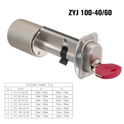 ZigBee Smart Lock Безопасность для дома Практичный противоугонный цилиндр с замком двери с ключами Работа с TuYa ZigBee Hub Powered by TuYa фото
