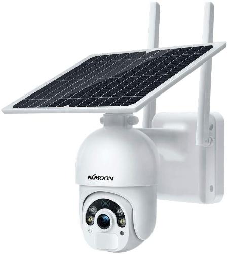 Solar Security Camera 1080P HD Outdoor Wireless WiFi PTZ Surveillance Camera