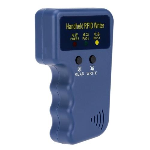 Duplicador de escritor/copiadora portátil portátil 125kHz RFID cartão de identificação
