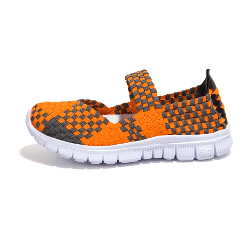 Summer Women Breathable Casual Running Weave Shoes