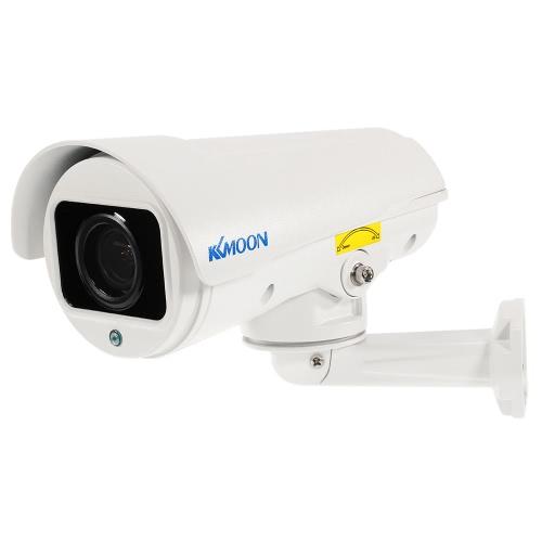 KKmoon 1080p HD Bala PTZ IP Câmera de 2,8 ~ 12 milímetros Auto-Focus manual Varifocal Zoom Lens 2.0MP 1/3