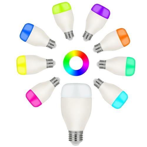 OWSOO Smart WiFi LED Light Bulb Multi-color Free APP/Voice Remote Control