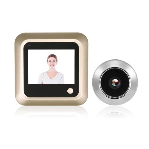 2.4インチデジタルドア眼の穴のビューアの液晶セキュリティカメラのモニター
