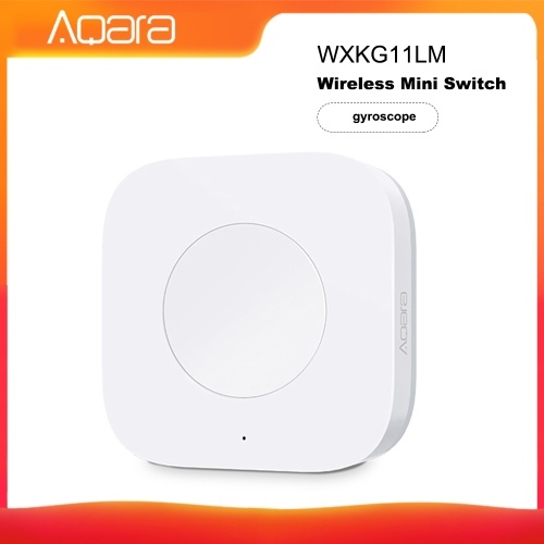 Aqara WXKG12LM Intelligent Switch APP Fernbedienung / Türklingel Eingebauter, hochpräziser Beschleunigungssensor